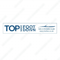 Top Down Foot Down